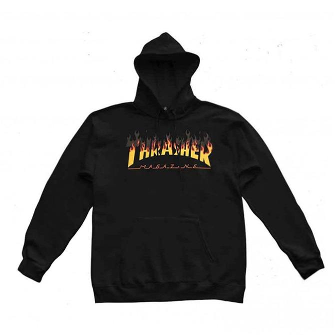 THRASHER BBQ HOOD - BLACK