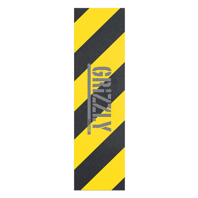 GRIZZLY HAZARD STAMP GRIP - YELLOW