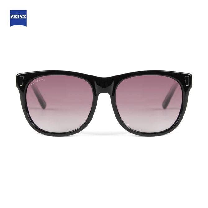 ASHBURY DAY TRIPPER BLACK WITH ROSE LENS