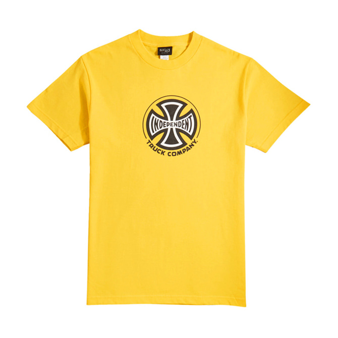 INDEPENDENT TRUCK CO. TEE - YELLOW