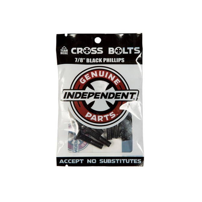 "INDEPENDENT HARDWARE BLACK 7/8"" PHILLIPS"
