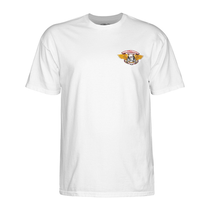 POWELL PERALTA WINGED RIPPER TEE - WHITE