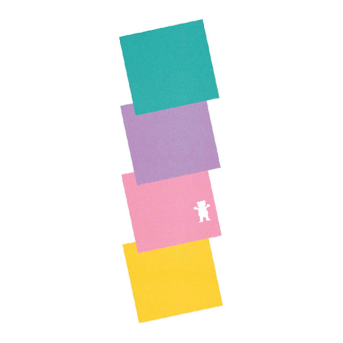 GRIZZLY PASTEL MINI GRIP - MULTI