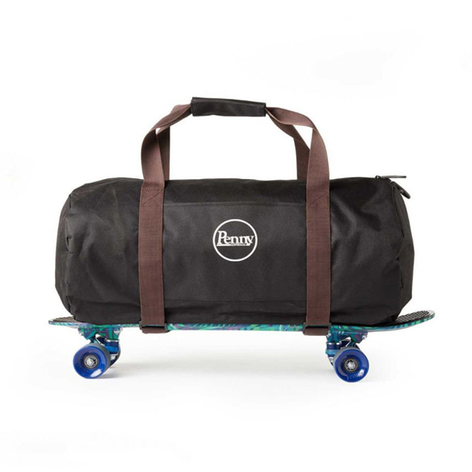 PENNY PENNY DUFFLE BAG - BLACK/BROWN