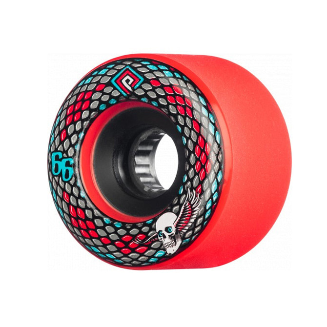 POWELL PERALTA SNAKES WHEELS RED 66MM 75A