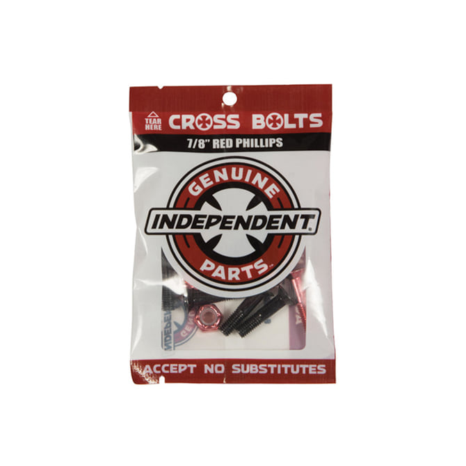 "INDEPENDENT HARDWARE BLACK/RED 7/8"" PHILLIPS"