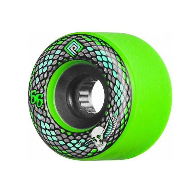 POWELL PERALTA SNAKES WHEELS GREEN 66MM 75A
