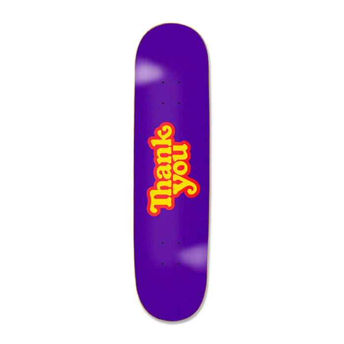 THANK YOU THANK YOU DECK - PURPLE 8.00