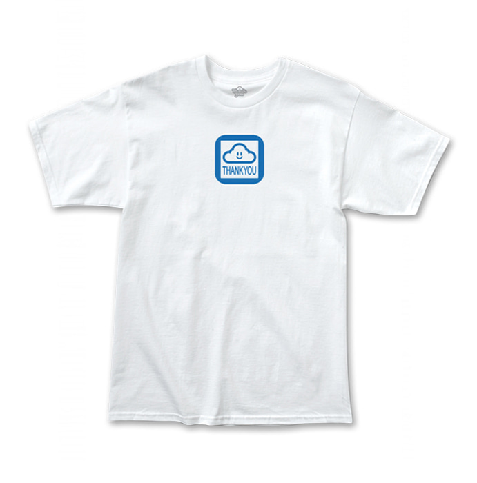 THANK YOU CLOUD OF FORTUNE TEE - WHITE