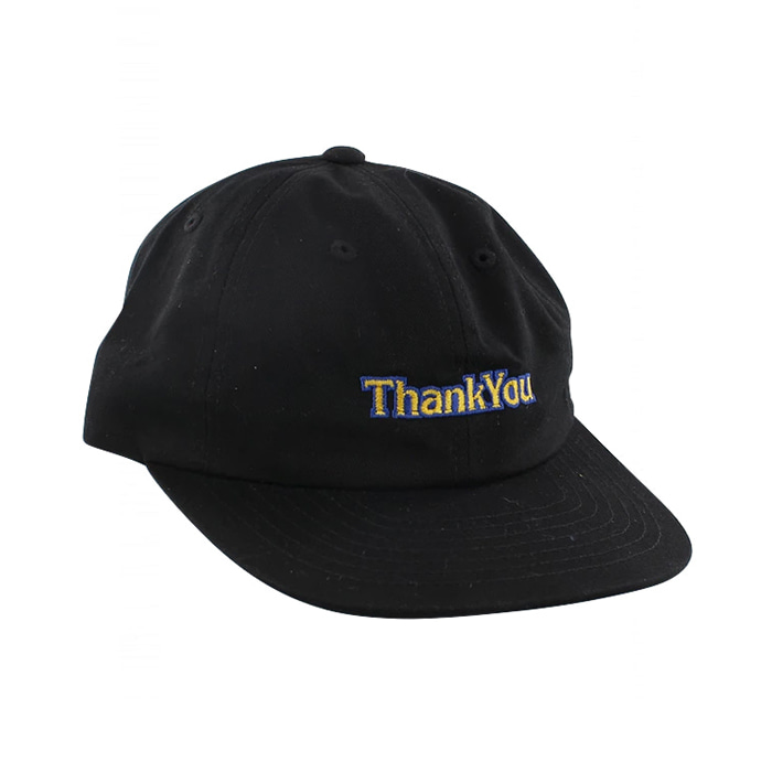 THANK YOU GAMER HAT - BLACK
