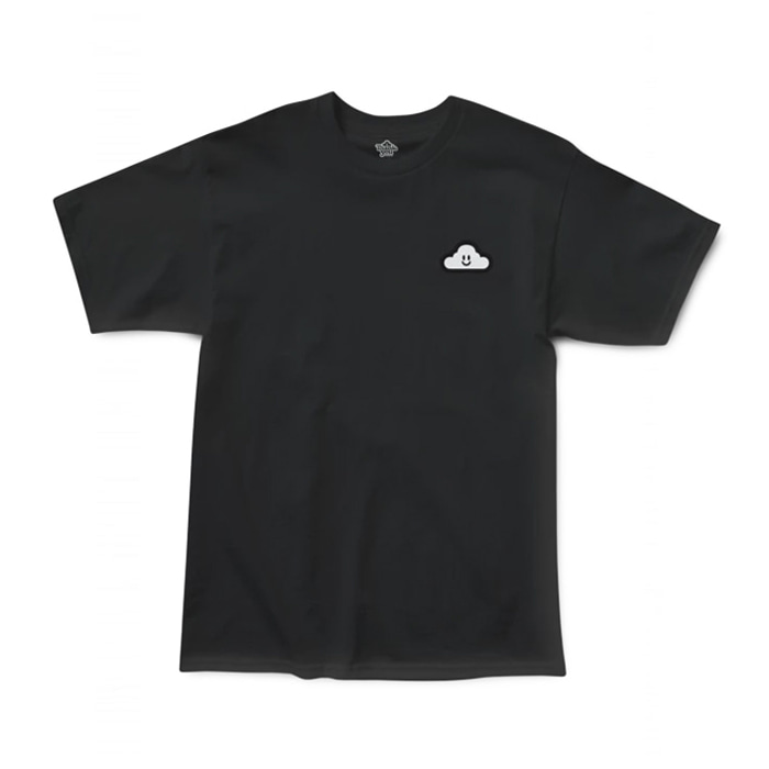 THANK YOU THANK YOU CLOUDY TEE - BLACK/WHITE