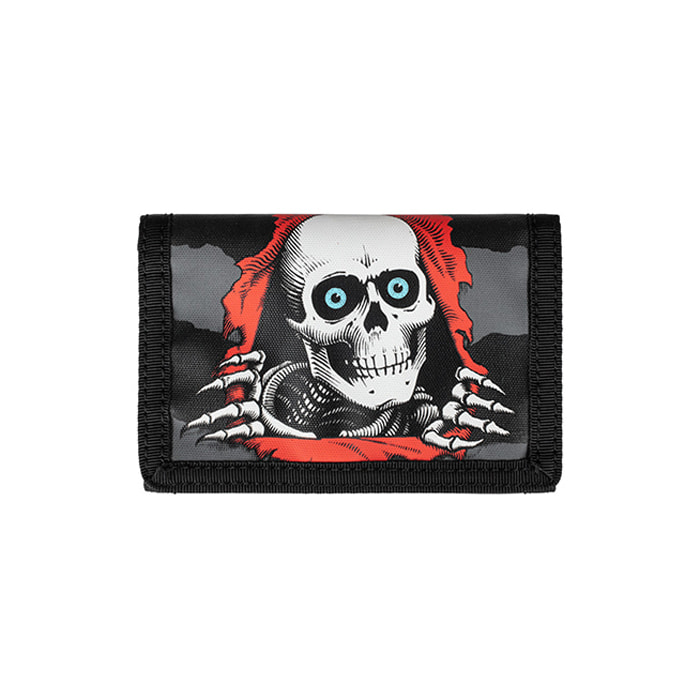 POWELL PERALTA RIPPER VELCRO WALLET - BLACK