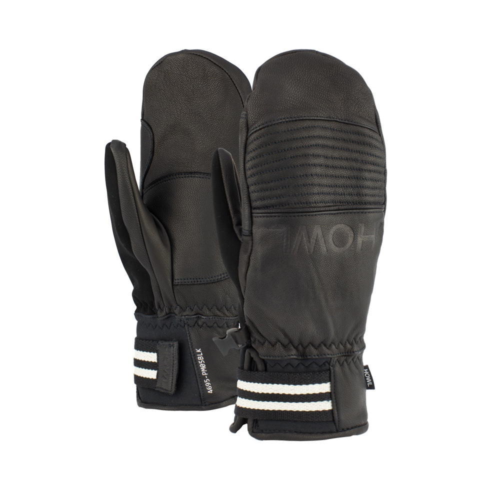 HOWL SUPPLY  HOUSTON MITT BLACK