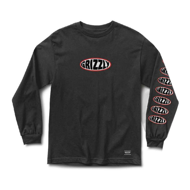 GRIZZLY BULGE L/S - BLACK