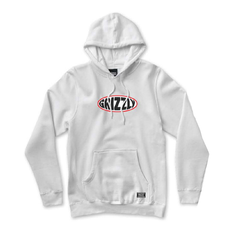 GRIZZLY BULGE HOOD - WHITE