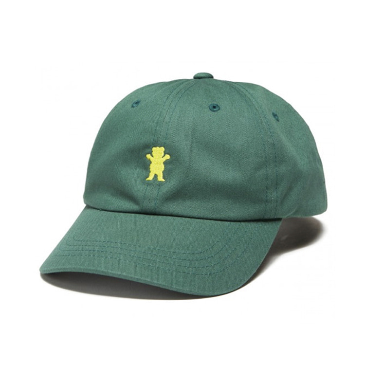 GRIZZLY OG BEAR STRAPBACK - GREEN/LIME