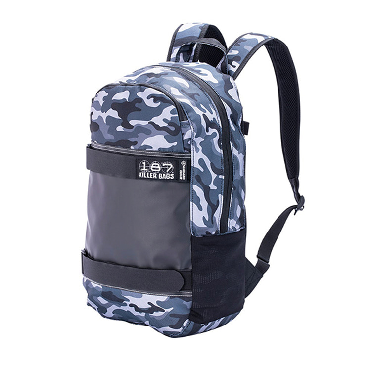 187 KILLER PADS STANDARD ISSUE BACKPACK - CHARCOAL CAMO