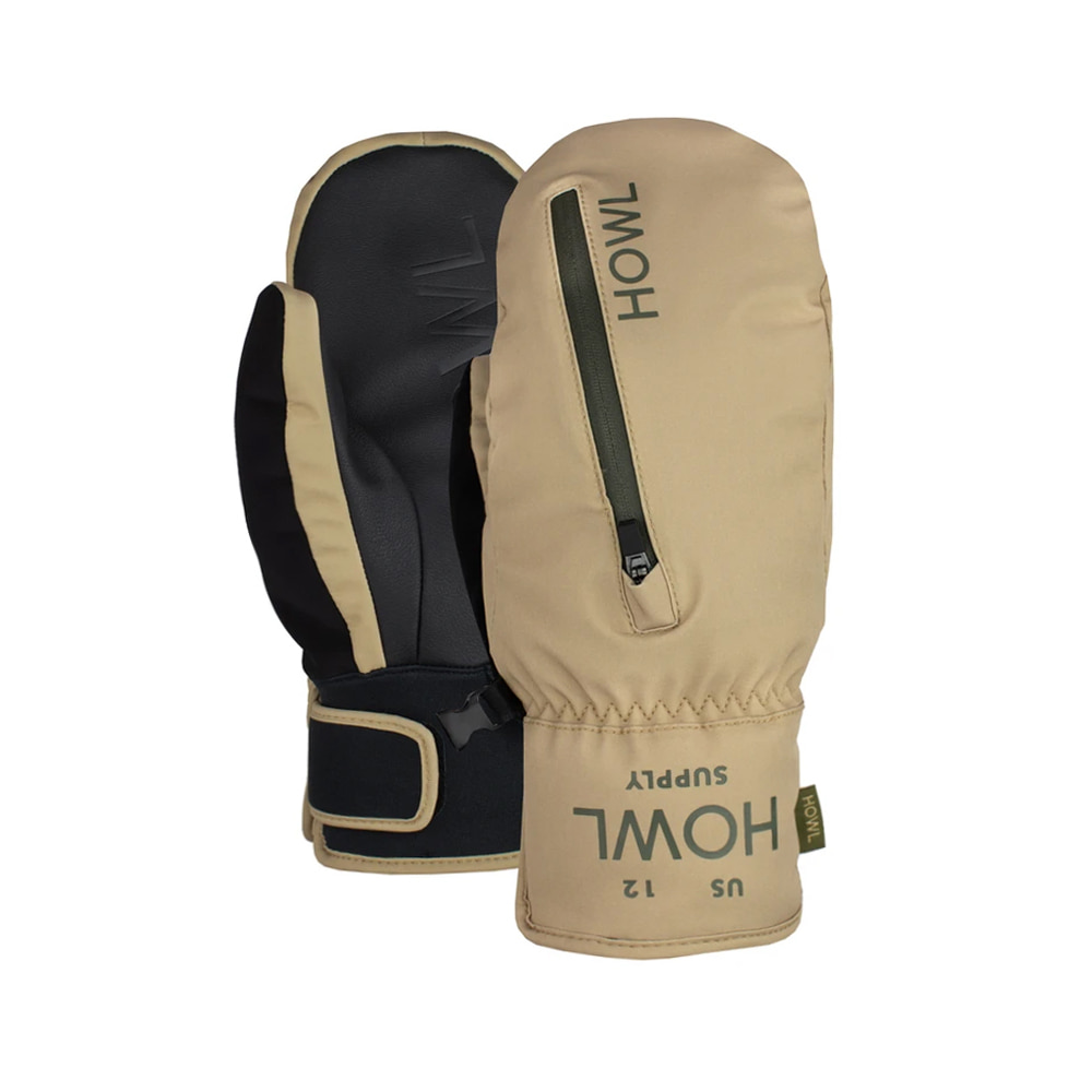 HOWL SUPPLY  POCKET MITT SAND
