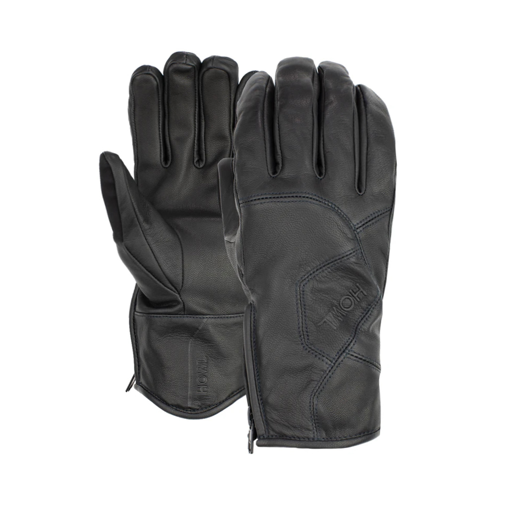 HOWL SUPPLY  TIGER GLOVE BLACK