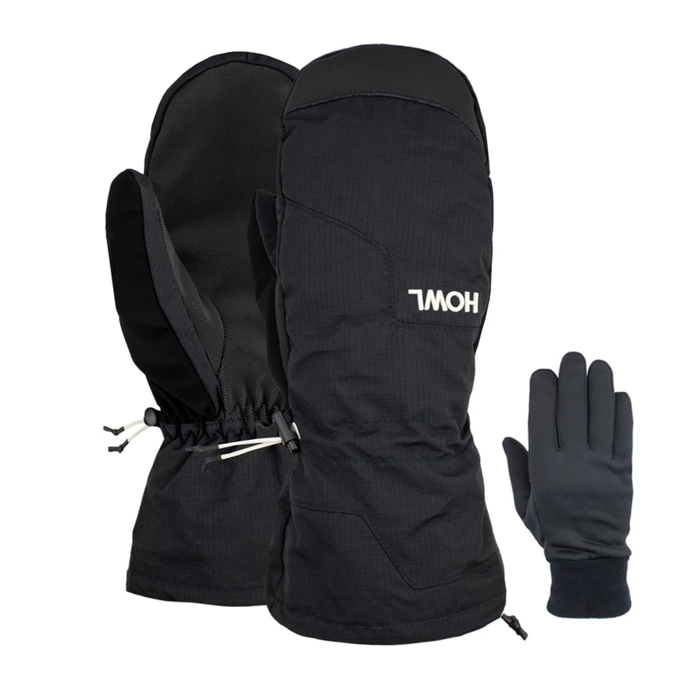 HOWL SUPPLY  BELMONT MITT BLACK