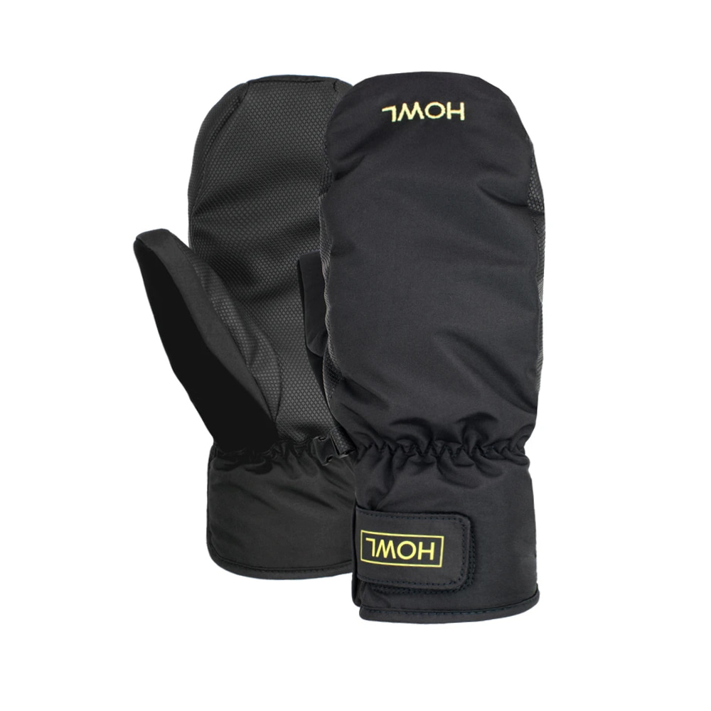 HOWL SUPPLY  FLYWEIGHT MITT BLACK