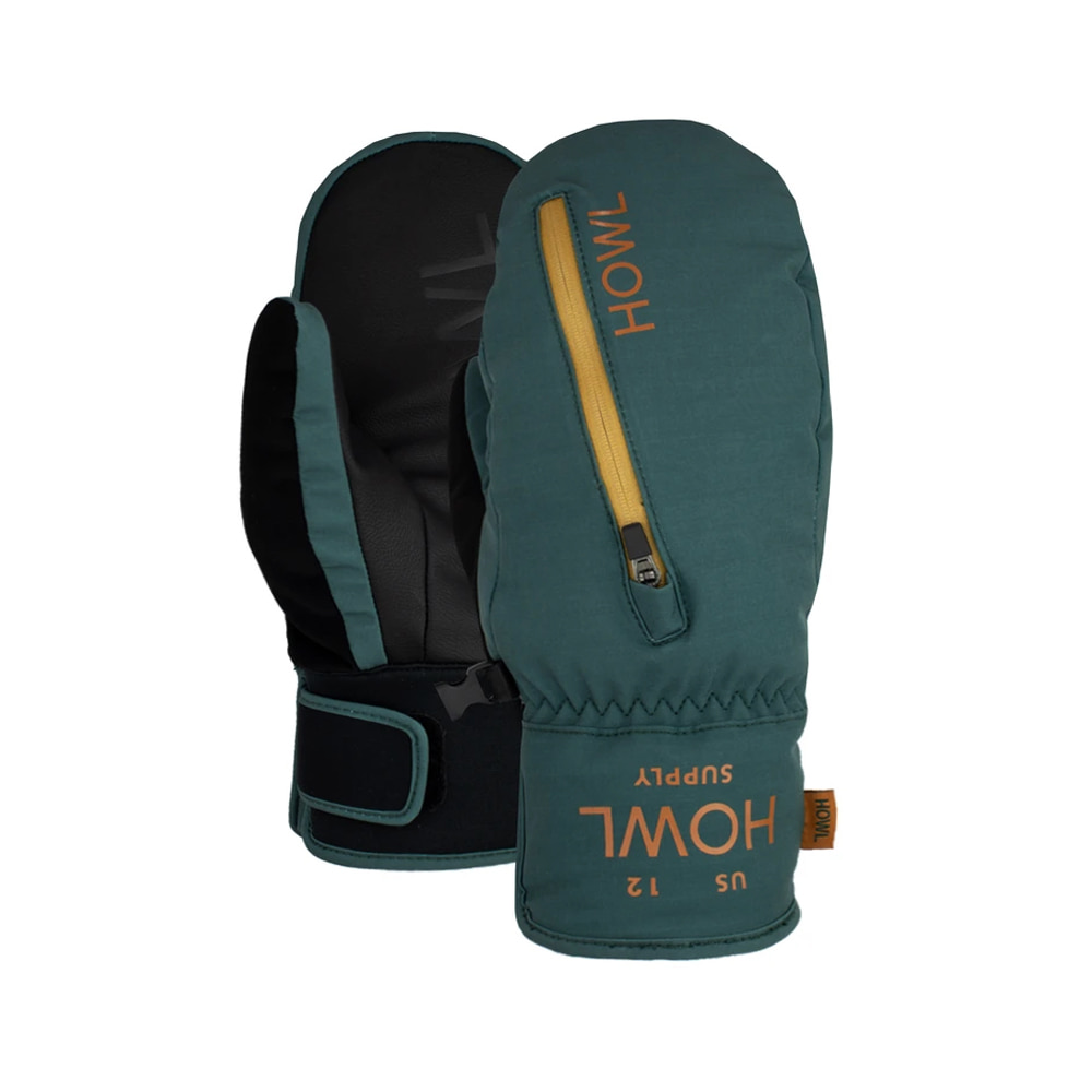 HOWL SUPPLY  POCKET MITT GREEN