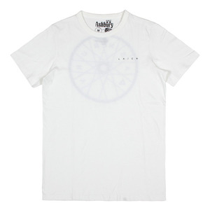 ASHBURY WHEEL TEE WHITE