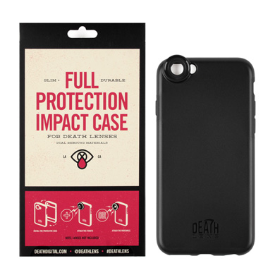 DEATH LENS FULL PROTECTION IMPACT CASE (IPHONE 6 / 6S COMPATIBLE)