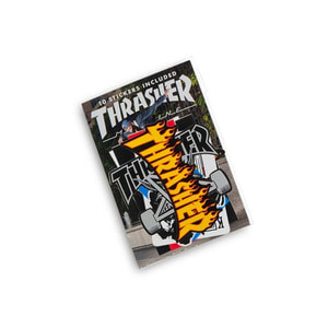 THRASHER 10 STICKERS INCLUDED