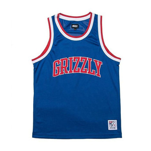 GRIZZLY FRAZIER BASKETBAKK JERSEY - BLUE