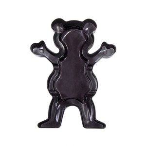 GRIZZLY OG BEAR GLASS ASHTRAY - SMOKE BLACK