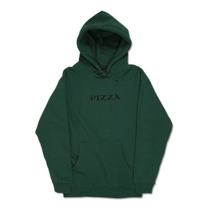 PIZZA COUTURE HOODIE - GREEN