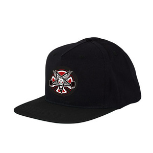 INDEPENDENT X THRASHER PENTAGRAM CROSS ADJ SNAPBACK - BLACK